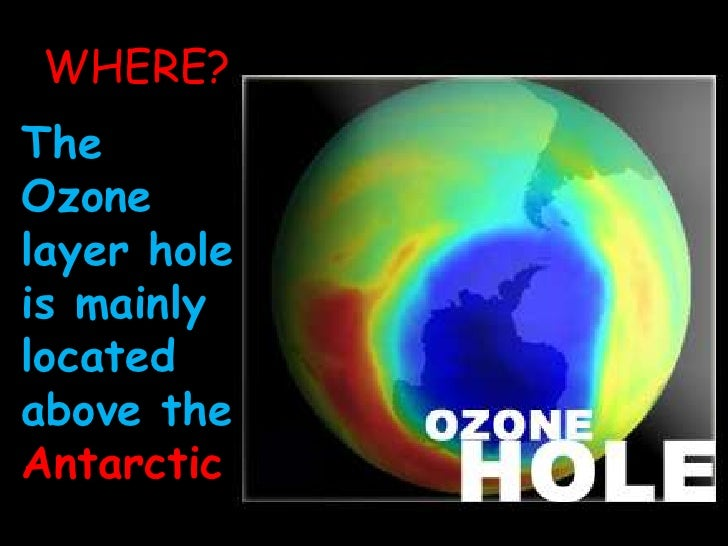 The hole in the ozone layer(2)
