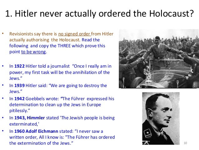 an analysis of the holocaust and the extermination of the jews and other people