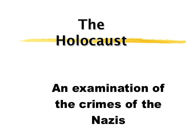 The holocaust by h. plouffe