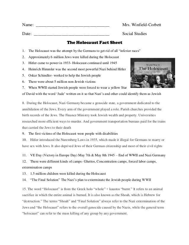 Write my holocaust paper topics