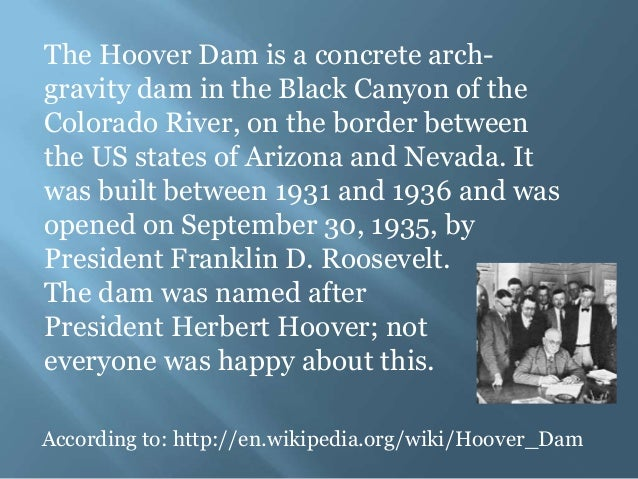 The Main Reason Hoover Dam Was