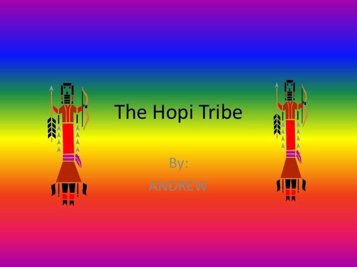 The Hopi Tribe
