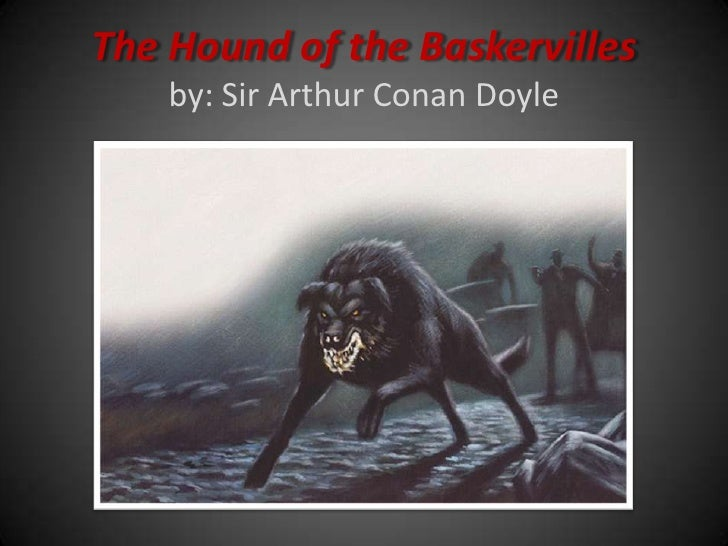 essay about the hound of the baskervilles
