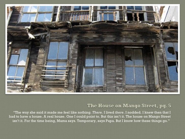 house on mango street essays