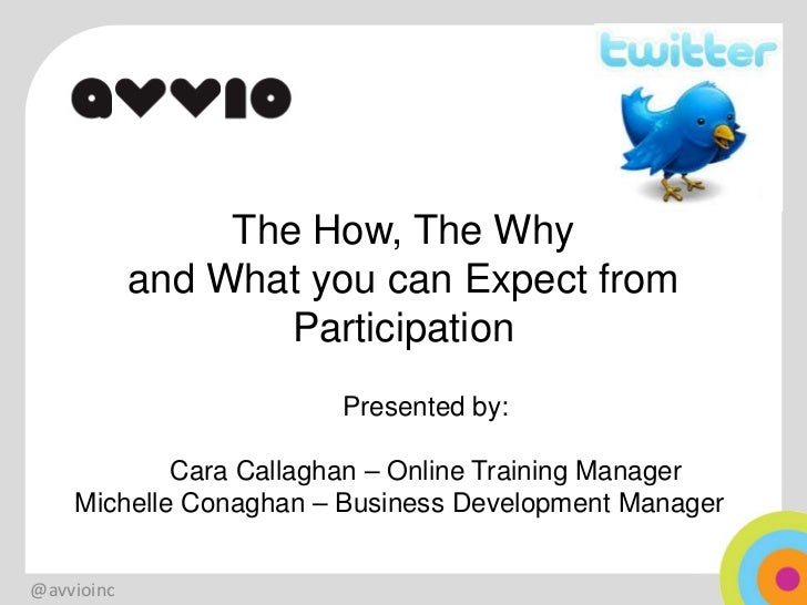 The How, The Why            and What you can Expect from                    Participation                       Presented ...