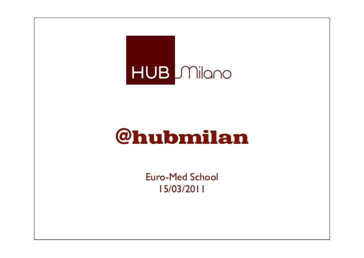 Thehub   euromed