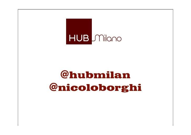@hubmilan @nicoloborghi