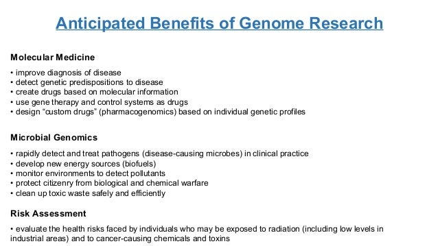 essay on human genome project