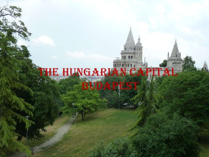 The hungarian capital budapest