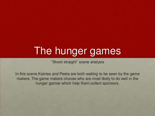 the hunger games analysis Katniss everdeen lives in the seam located in district 12 in the country of panem she is responsible for feeding herself, her sister primrose, and her mother, so she illegally hunts with her best friend gale gale, a young man of eighteen, is sixteen-year-old katniss' best friend on reaping day.
