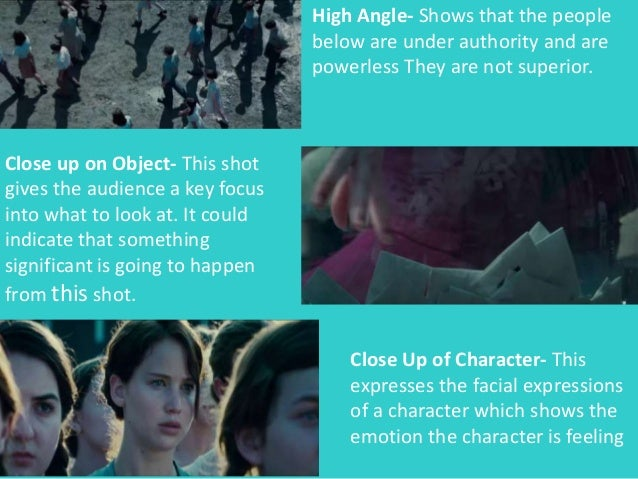 film techniques in hunger The paper therefore analyses these film techniques used in this film, to effectively bring out the story and prevalent themes in the hunger games cinematography cinematography, is more of the techniques used to make a movie, by using different angle shots, to create tension and make the movie interesting.