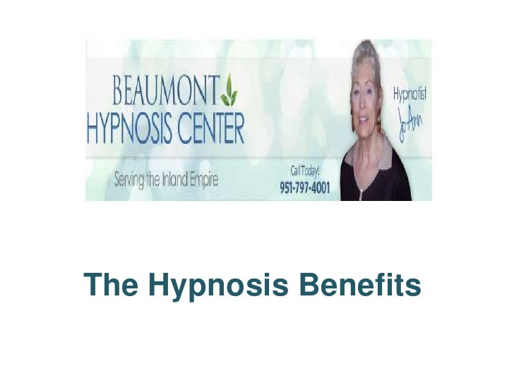 The hypnosis benefits