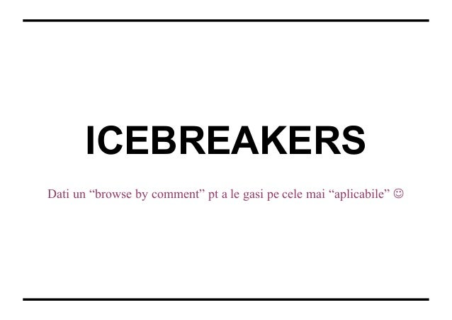 The ice breakers book