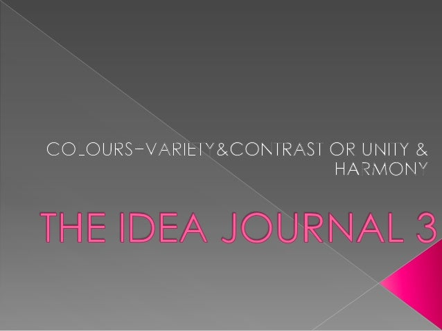 The idea journal 3