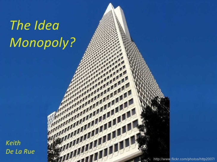The Idea Monopoly? Why change fails.