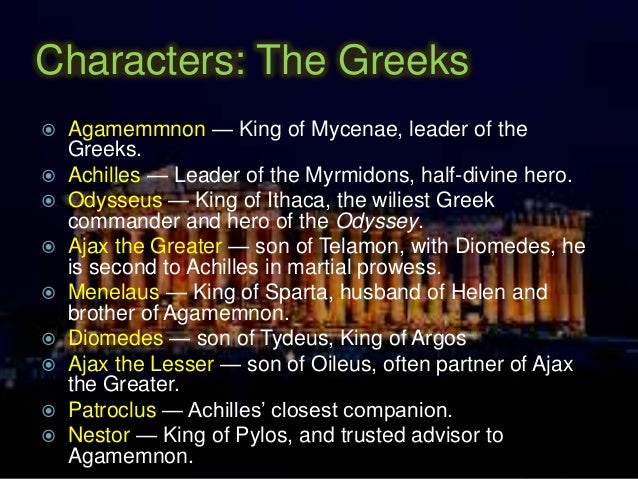 an analysis of the character of achilles in the iliad Get an answer for 'analyze the character of achilles in the iliad' and find homework help for other iliad questions at enotes.