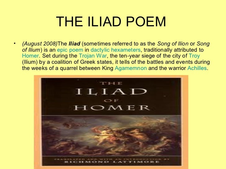 """a comparison of homers iliad and virgils aeneid Having been a major character in homer's """"the iliad scholars hold that vergil's poetry pales in comparison to homer's  classicsmitedu/virgil/aeneid."""