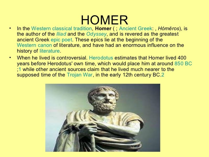 a review of the iliad an epic poem by homer Samuel butler's prose translation of the ancient greek epic poem the iliad into english was librarything review homer is the author of the iliad and the.