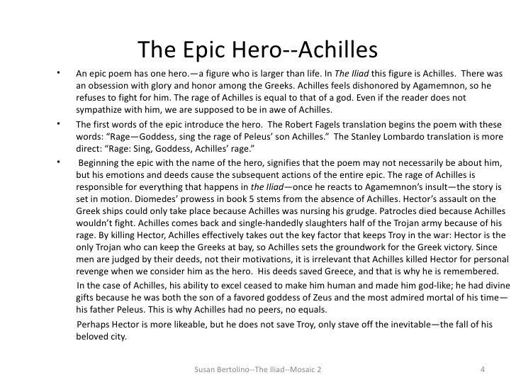 Essay On The Iliad