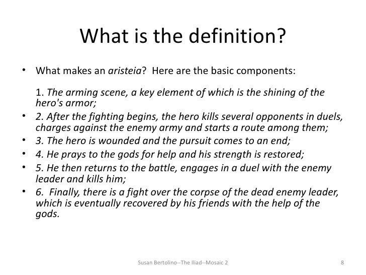 Iliad Essay Topics