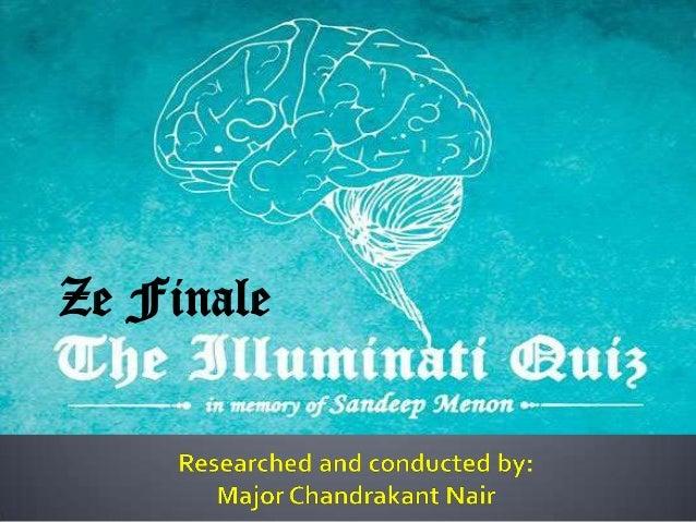 The Illuminati Quiz 2013 at Model Engineering College, Kochi - The Finals