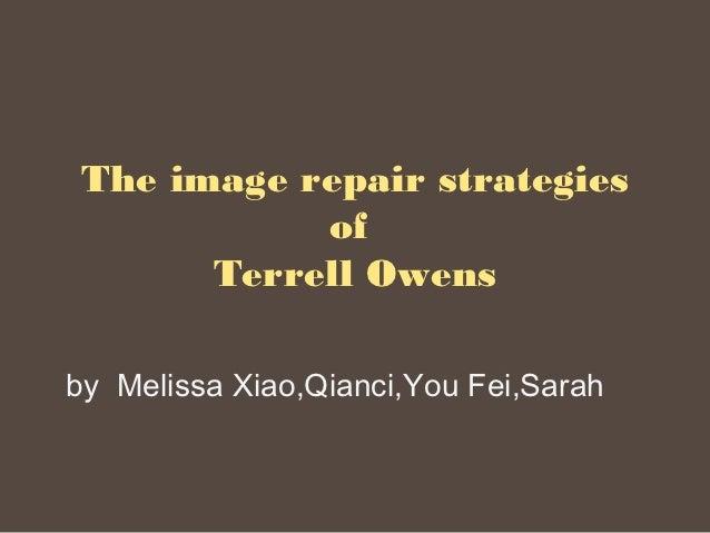 The image repair strategies