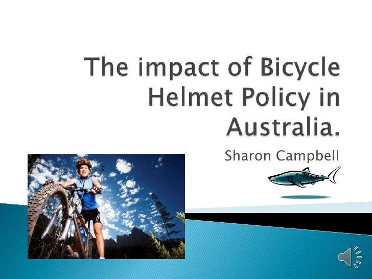 The impact of bicycle helmet policy in australia