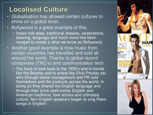 globalization effects on culture essay