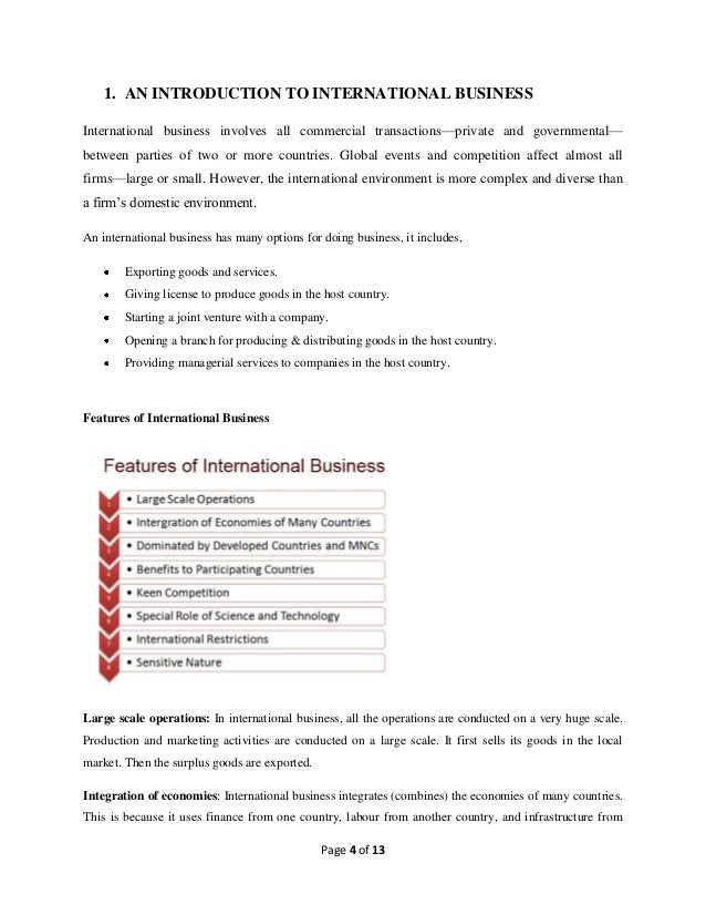 globalization in international business essay What are the pros and cons of globalization essay & examples  globalization is the process of international relationships among the peoples of  business, art.