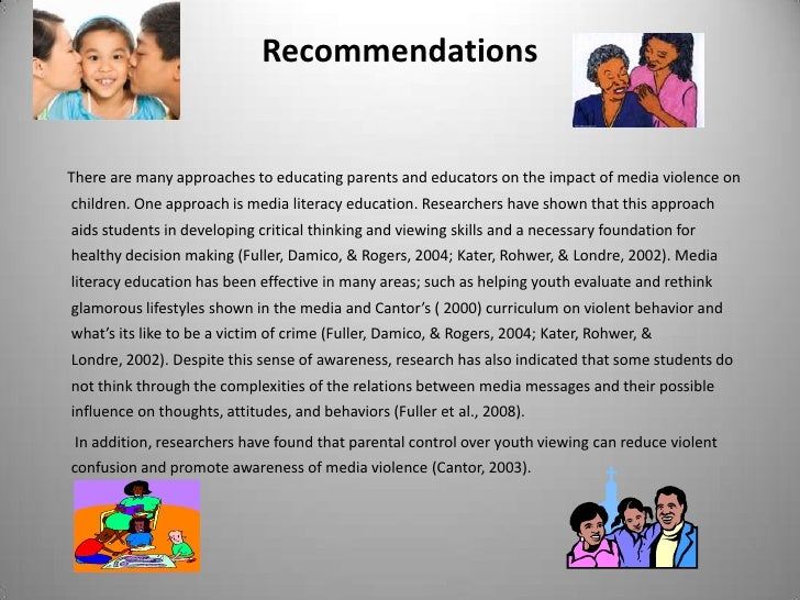 media violence and children essay Violence in the media this essay violence in the media and other 63,000+ term papers, college essay examples and free essays are available now on reviewessayscom.