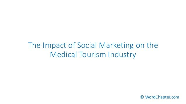 the impact of the increase in medical tourism Nowadays, medical tourism is the most visible part of a generalised growth in the globalisation of health–which essentially comes down to international trade in health services most people prefer to receive healthcare close to home.