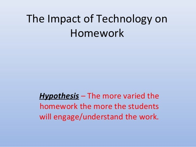 The impact of homework