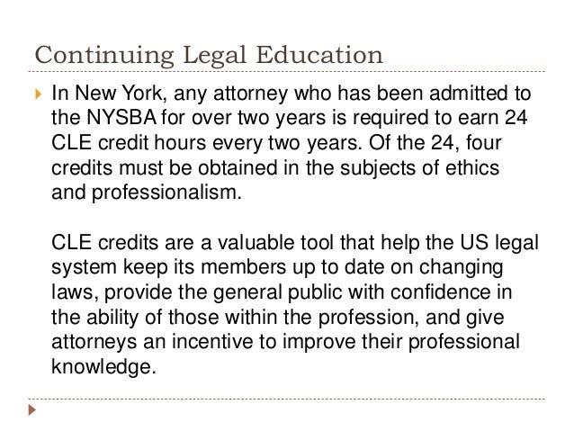 The Importance of Continuing Legal Education Credits