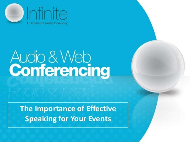 The Importance of Effective Speaking for Your Events