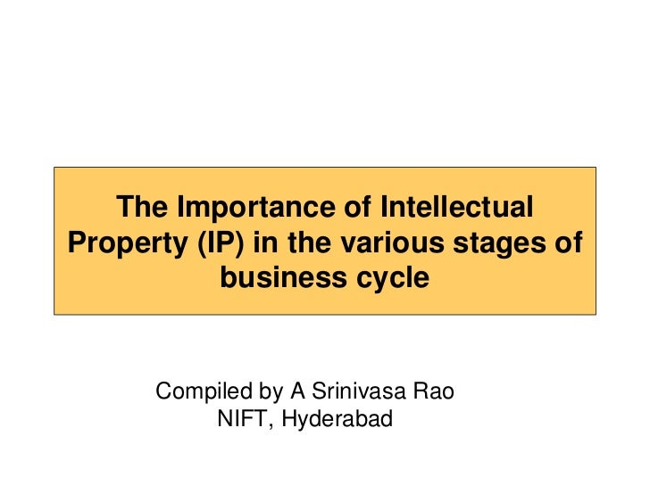 The importance of intellectual property (ip) [compatibility