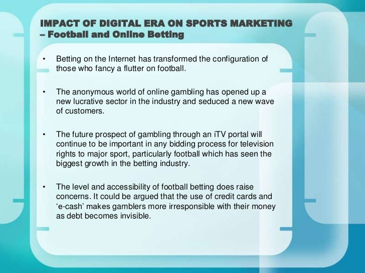 the importance of a sports market research Additionally, market research is used to monitor and modify, if  this requires an investment of time and money to marketing, strategy, and competitive analysis.