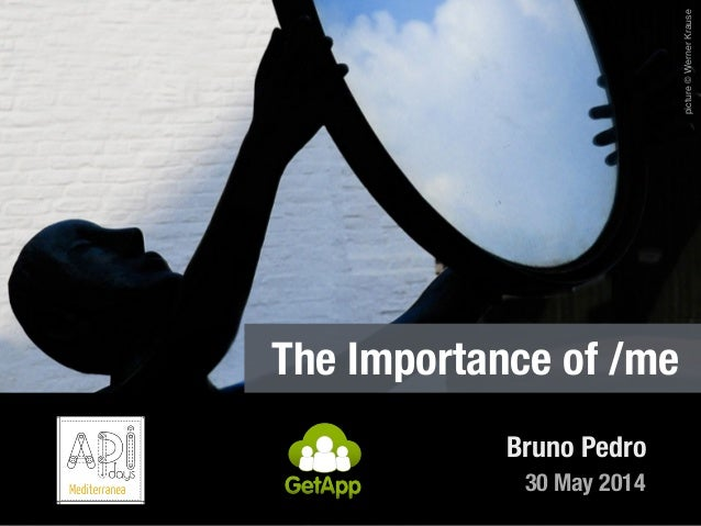 30 May 2014 Bruno Pedro The Importance of /me picture©WernerKrause