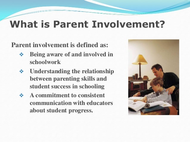 Dissertation on parental involvement