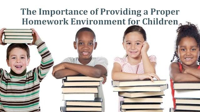 Importance of homework