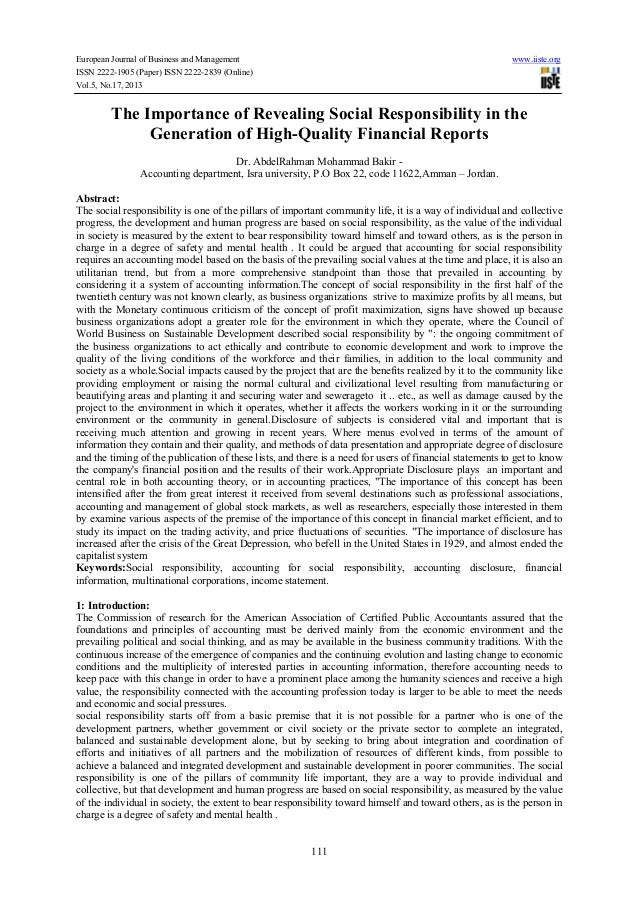 European Journal of Business and Management www.iiste.org ISSN 2222-1905 (Paper) ISSN 2222-2839 (Online) Vol.5, No.17, 201...