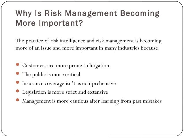 importance of risk financing The second method, risk financing , deals with taking steps to ensure that losses  can be financed if and when they occur this is accomplished.