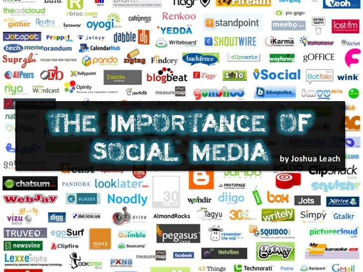 The importance of social media in business and ministry