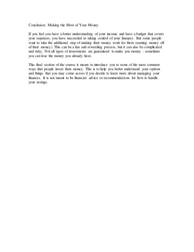 essays on money saving If you order your custom term paper from our custom writing service you will receive a perfectly written assignment on saving money what we need from you is to provide us with your detailed paper instructions for our experienced writers to follow all of your specific writing requirements.