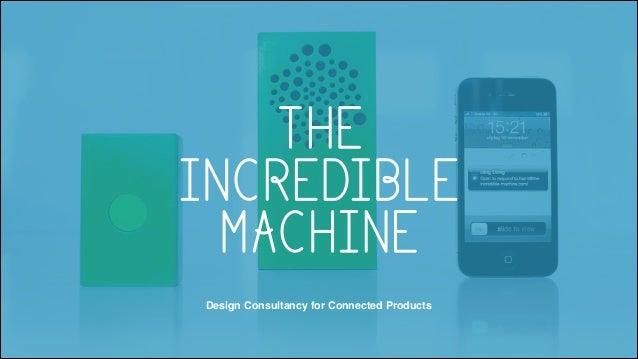 Marcel Schouwenaar (The incredible machine) @ CMC Digital Design