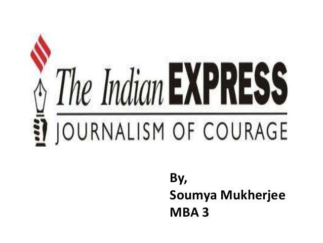 The indian express soumya mukherjee Universal Business School