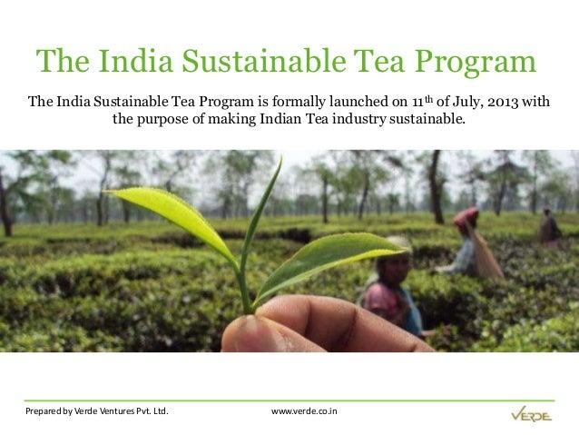 The India Sustainable Tea Program - trustea