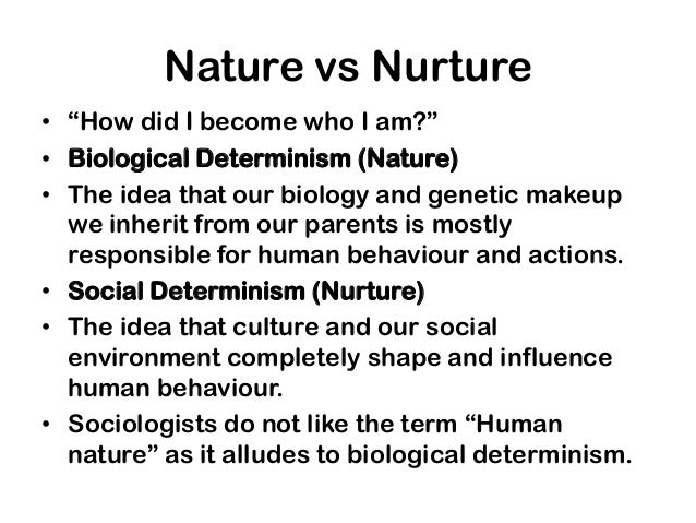 nature nurture culture essay View this essay on nature vs nurture and the serial killer neurodevelopmental and psychosocial risk factors in serial killers and mass murderers aggression.