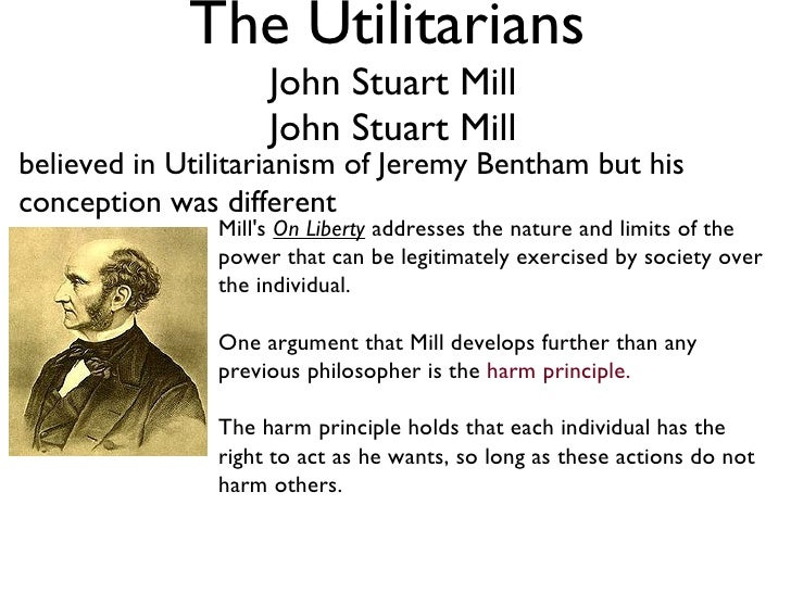 defining mills harm principle philosophy essay In his book on liberty, john stuart mill argues for one simple principle: the harm principle it amounts to this the state, my neighbors.