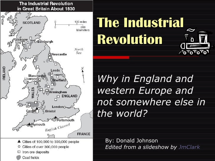 an analysis of the causes of the industrial and commercial revolution in england Global regents review packet 14 a major reason the industrial revolution began in england was that the commercial revolution helped lead to the.
