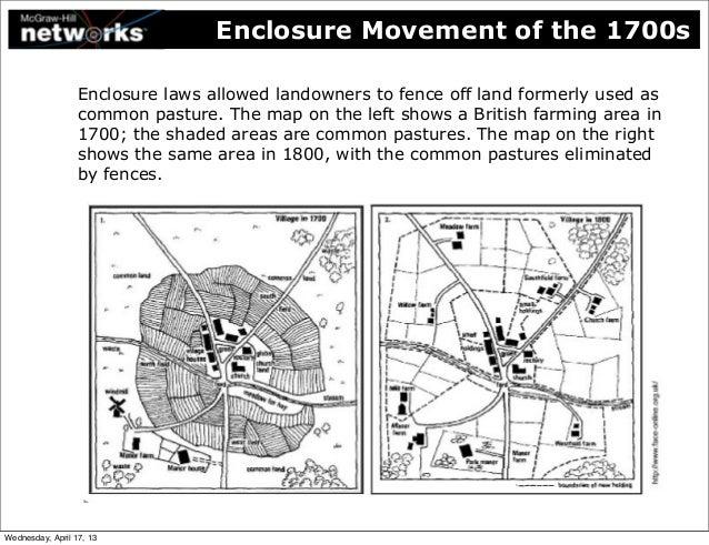 Enclosure Movement Industrial Revolution 75926   PCMODE